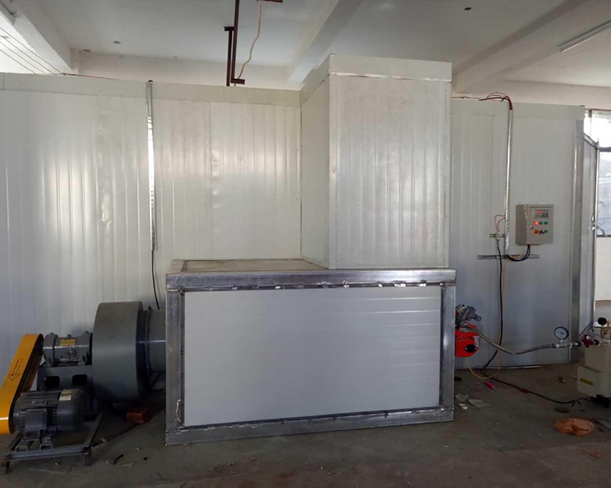 燃气高温烤房